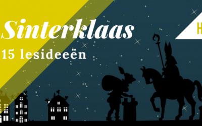 15 lesideeën rondom Sinterklaas