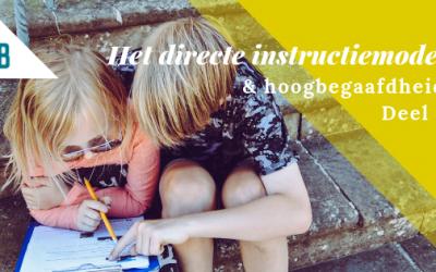 Hoe passend is het directe instructiemodel?
