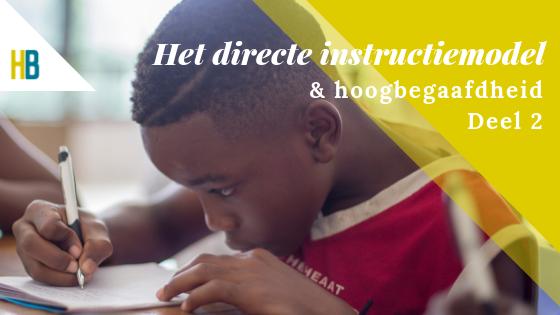 Tips voor het gebruik van het directe instructiemodel