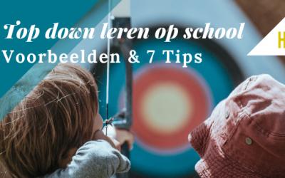 Top-down leren op school